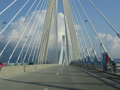 Neue Brücke in Patras