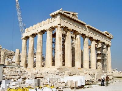 Akropolis-Athena-Tempel
